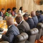 Des membres du gouvernement ivoirien