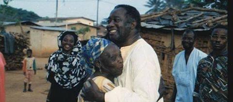 Laurent Gbagbo et sa mère
