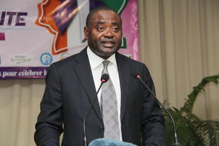 Le ministre ivoirien de l'enseignement supérieur Gnamien Konan