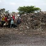 Des déchets ou ordures ménagères