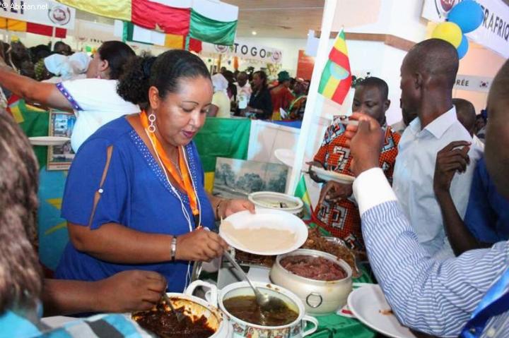 Cérémonie d`ouverture du Grand Buffet d`Abidjan