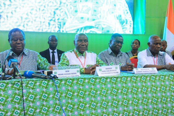 Abidjan/Samedi 28 février 2015: 5e Congrès extraordinaire du PDCI. © Abidjan. net
