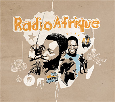 Représentation de la radio en Afrqique. © musique.fnac.com