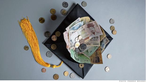 Les bourses d'études pour l'étranger attisent beaucoup.