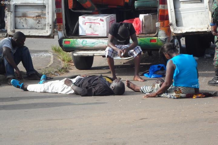 Emprunter ces moyens de transports à Abidjan donne souvent plus que le vertige