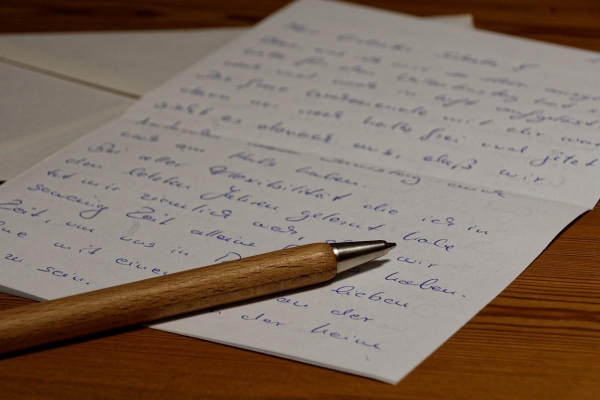 Un exemple de lettre ou prise en charge signé par le garant