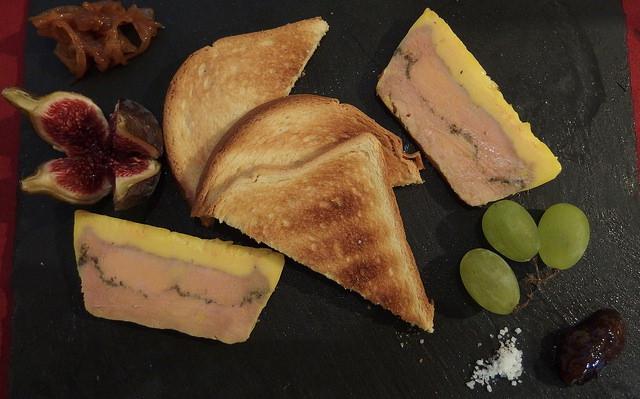 Le foie gras, un plat qui ne manque pas à noel en France