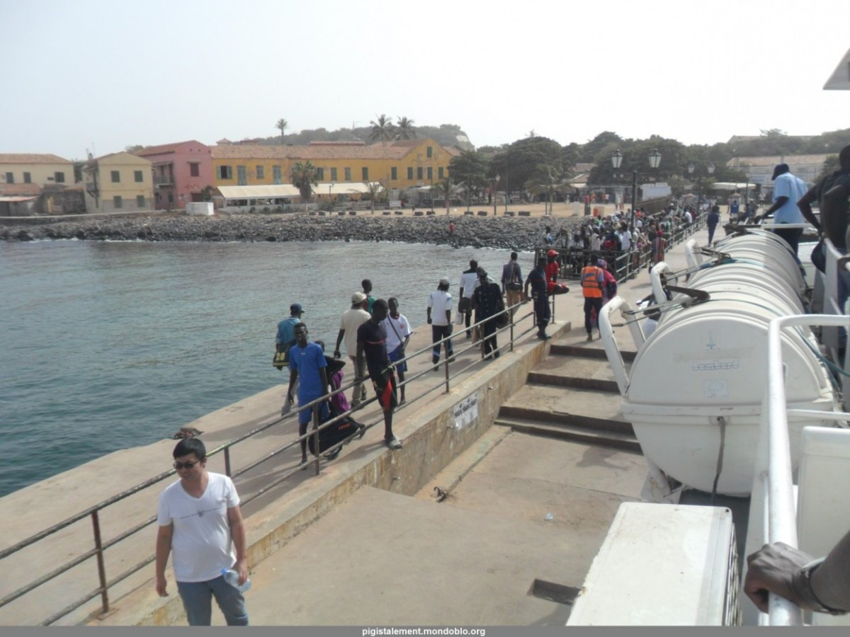 La chaloupe de l'île de gorée