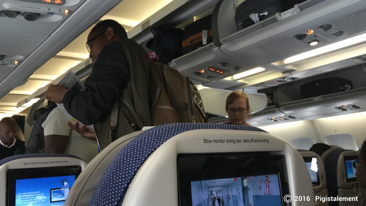 Dans le vol Brussels Airlines
