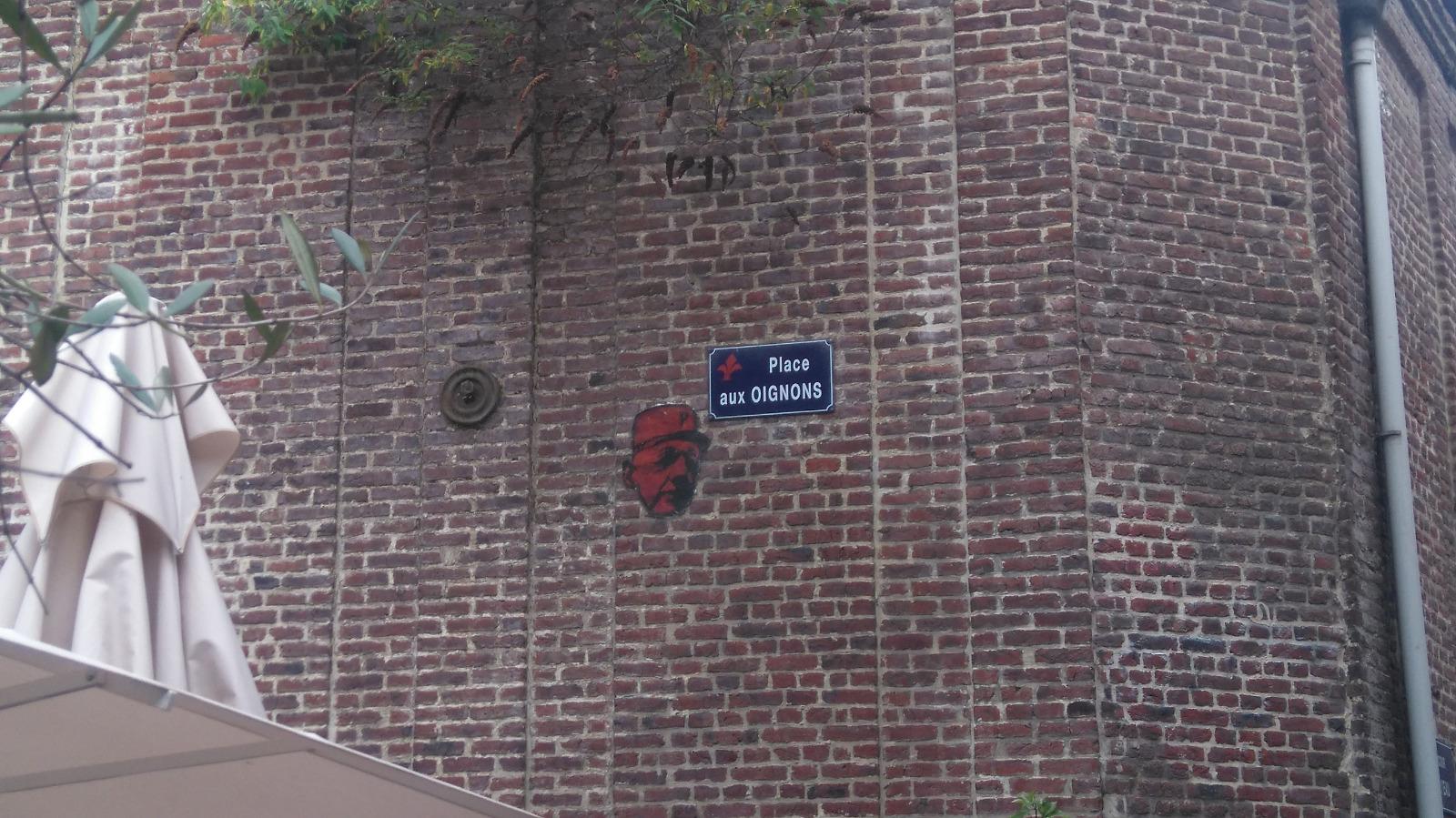Place des oignons à Lille