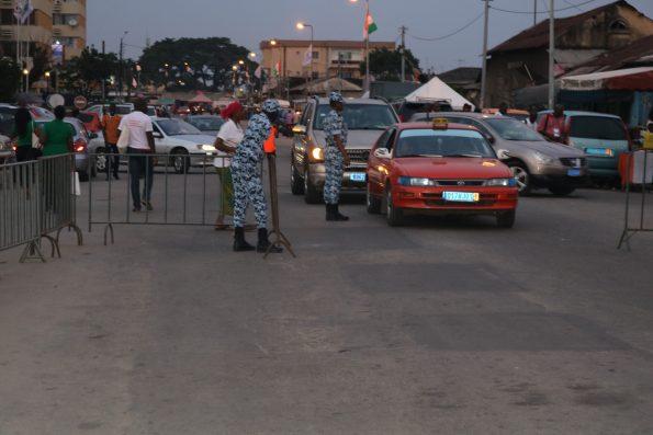 Circulation de véhicule Abidjan
